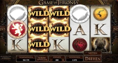 Game of Thrones Spielautomat