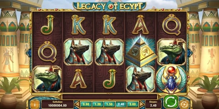 Legacy of Egypt Spielautomat