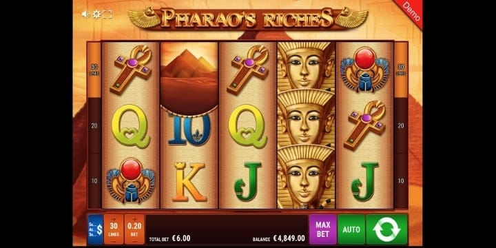 Pharao's Riches Spielautomat