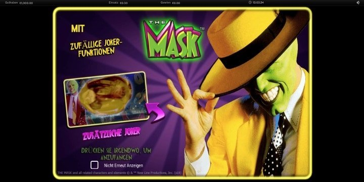 The Mask Spielautomat von NextGen Gaming