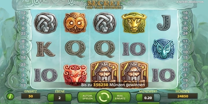 Secret of the Stones Slot – NetEnt