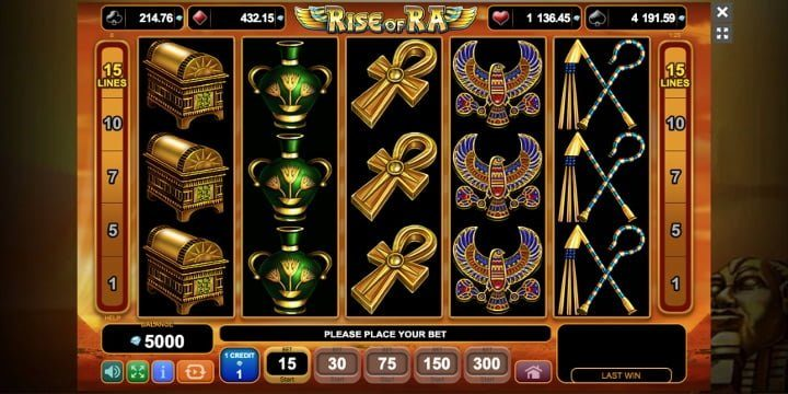 Video-Slot Rise of Ra