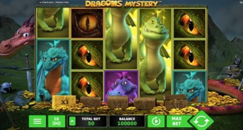 Video-Slot Dragons Mystery