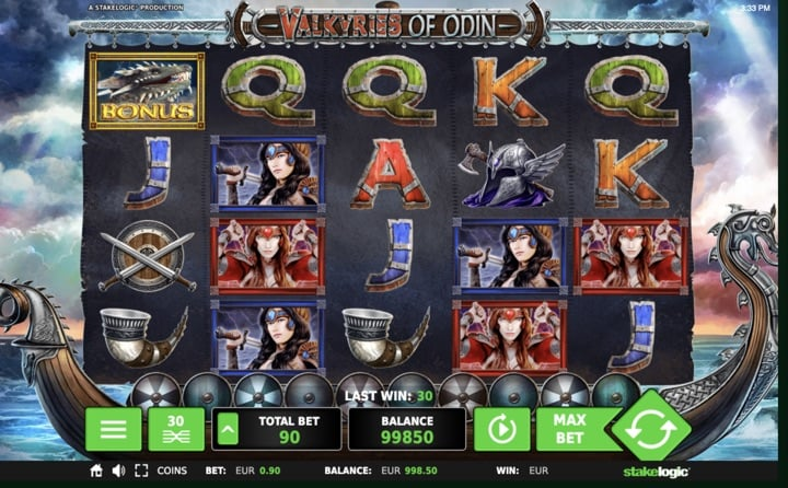 Valkyries of Odin Slot von Stakelogic