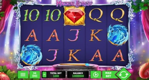 Video-Slot Magical Forest Stakelogic