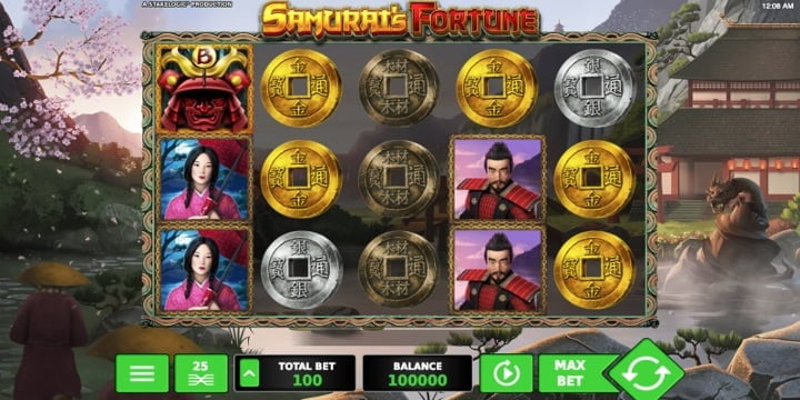 Video-Slot Samurai's Fortune