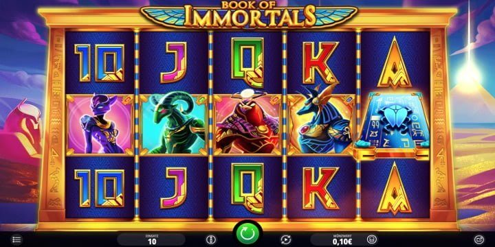 Video-Slot Book of Immortals iSoftBet