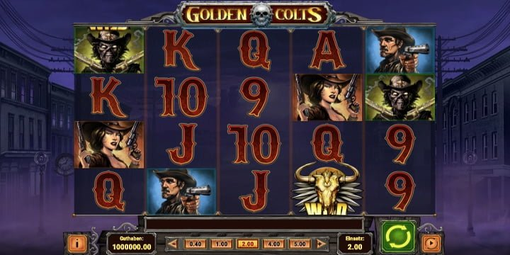 Video-Slot Golden Colts Play'n Go