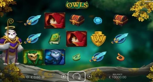 Video-Slot Owls Nolimit City