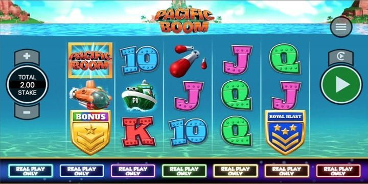 Slot Pacific Boom Core Gaming