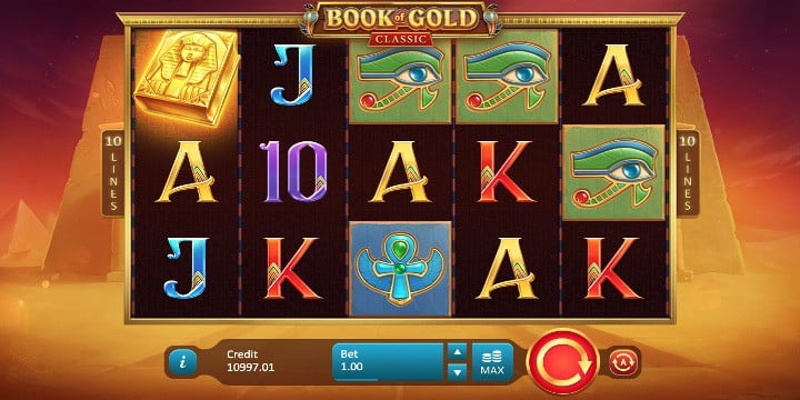 Slot Book of Gold Classic Playson
