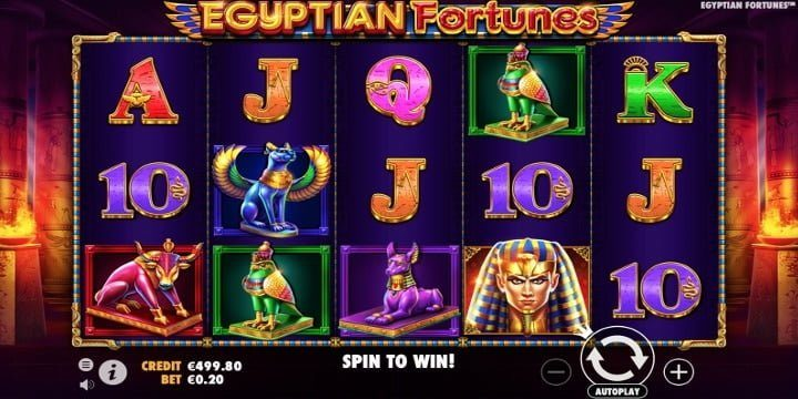 Slot Egyptian Fortunes Pragmatic Play
