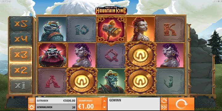 Slot Hall of the Mountain King Quickspin