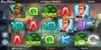 Slot Outerspace Invaders Pear Fiction