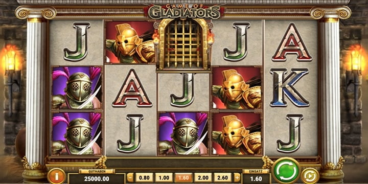 Slot Game of Gladiators Play'n Go