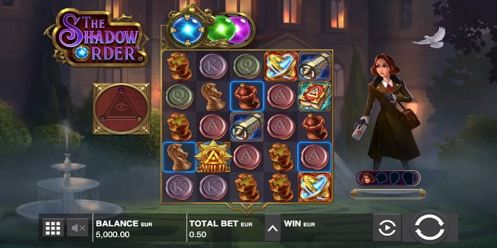 The Shadow Order Slot – Push Gaming