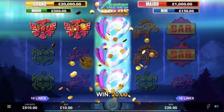 Slot Aurora Wilds Microgaming