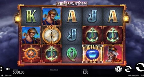 Slot Riders of the Storm Thunderkick