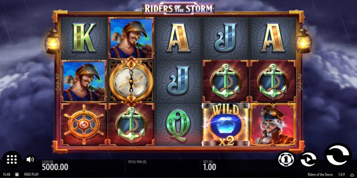 Riders of the Storm Slot – Thunderkick
