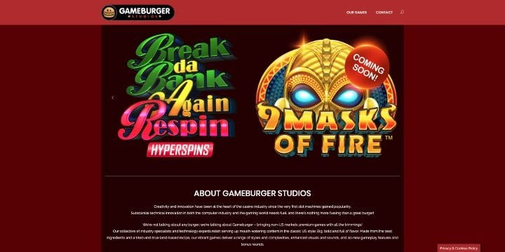 Slot 9 Masks of Fire Microgaming