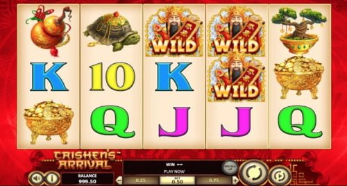 Slot Caishen's Arrival BetSoft Gaming