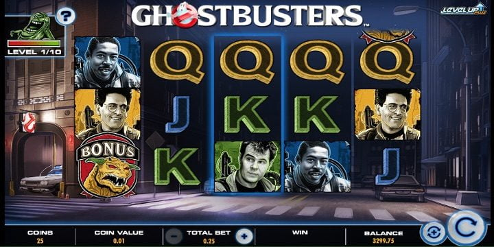Slot Ghostbusters Level Up Plus IGT