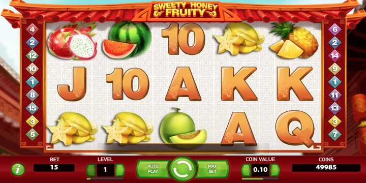 Slot Sweety Honey Fruity Net Entertainment