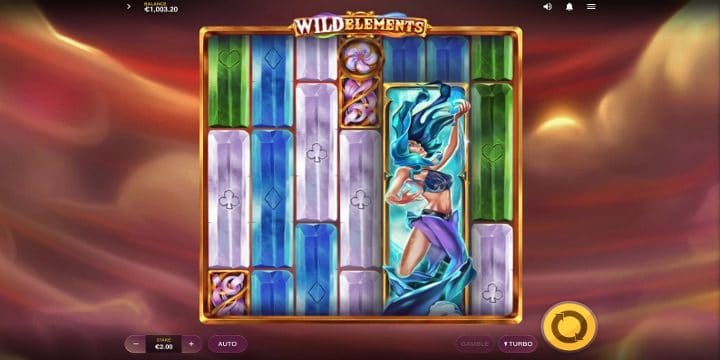 Slot Wild Elements Red Tiger