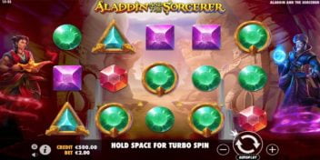 Slot Aladdin and the Sorcerer Pragmatic Play