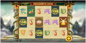Slot Dragon's Luck Megaways Red Tiger