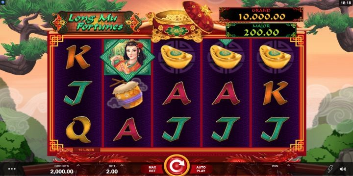 Slot Long Mu Fortunes Microgaming