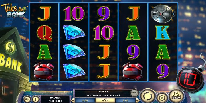 Slot Take the Bank BetSoft Gaming