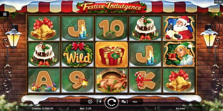 Slot Festive Indulgence Microgaming