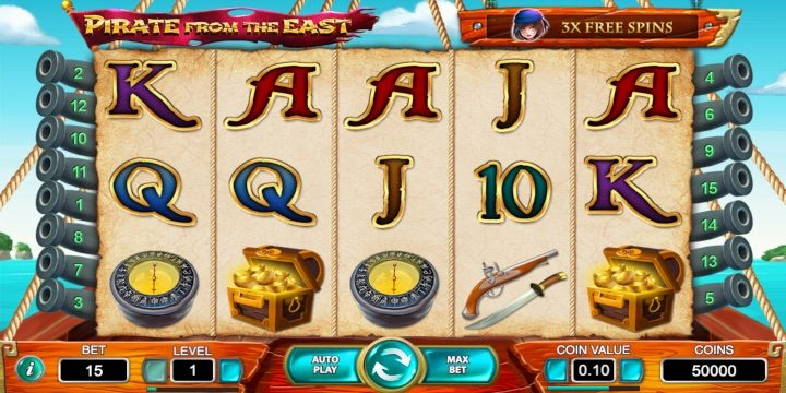 Slot Pirate From the East Net Entertainment