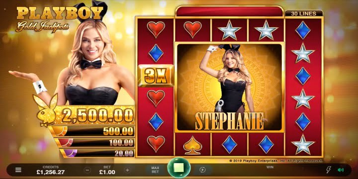 Playboy Gold Jackpots Slot von Microgaming