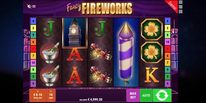 Slot Fancy Fireworks Gamomat