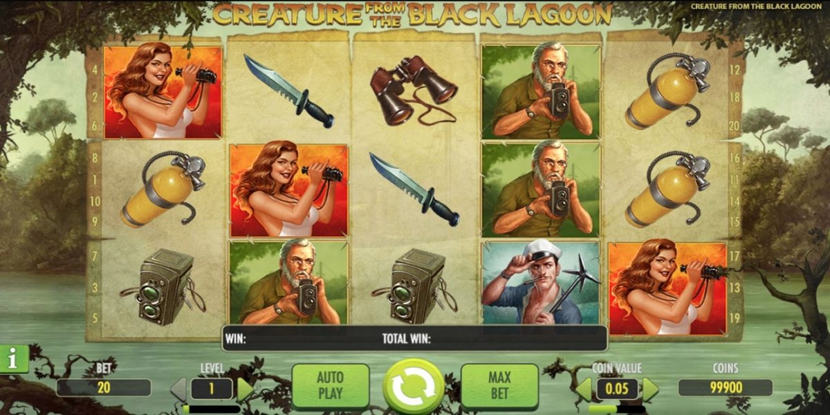 Creature from the Black Lagoon Slot Net Entertainment
