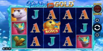 Fishin' for Gold Slot iSoftBet