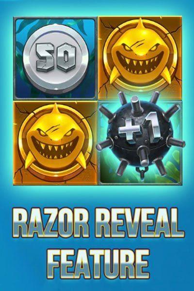Razor Shark Reveal Feature