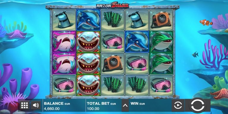 Razor Shark Casino und Slot Test