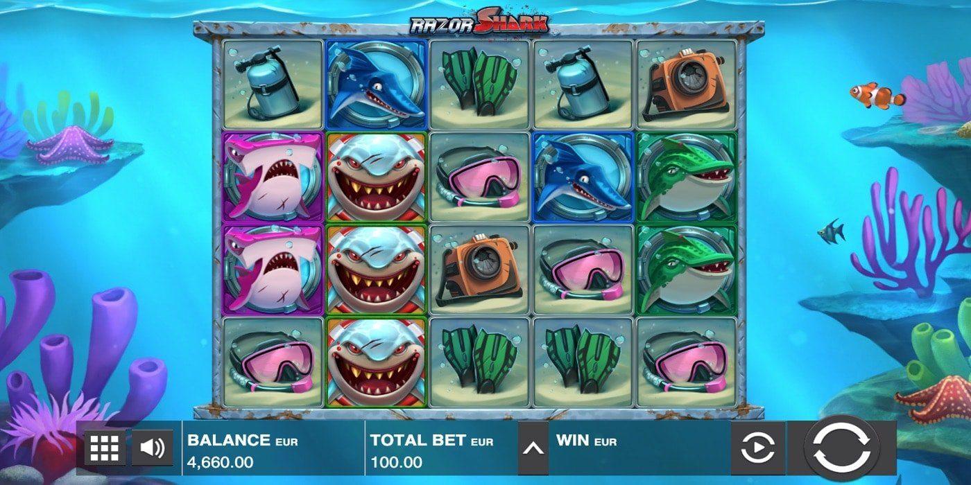 Razor Shark Slot Push Gaming