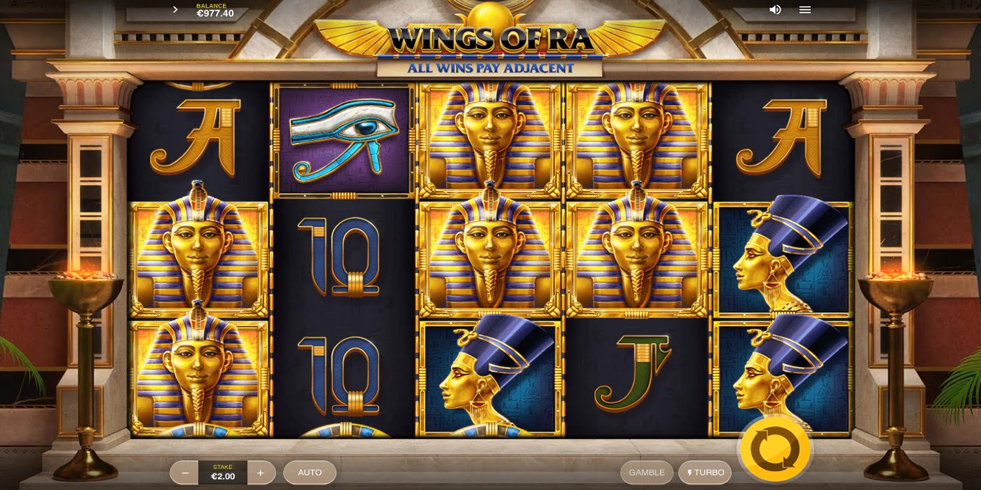 Wings of Ra Slot Red Tiger