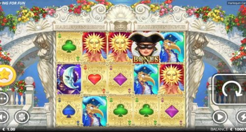 Harlequin Carnival XNudge Slot NoLimit City
