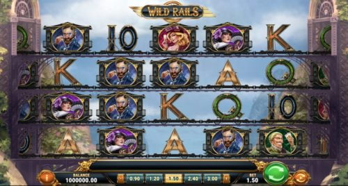 Wild Rails Slot Play'n Go