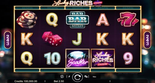 Lucky Riches Hyperspins Slot Microgaming