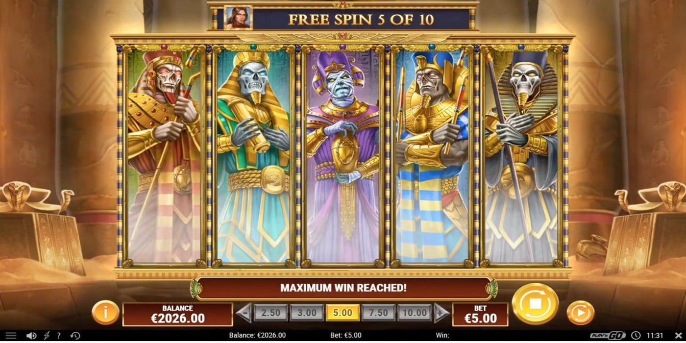 Cat Wilde and the Doom of Dead Slot Play'n Go