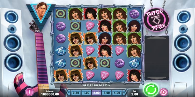 Twisted Sister Slot von Play´n Go