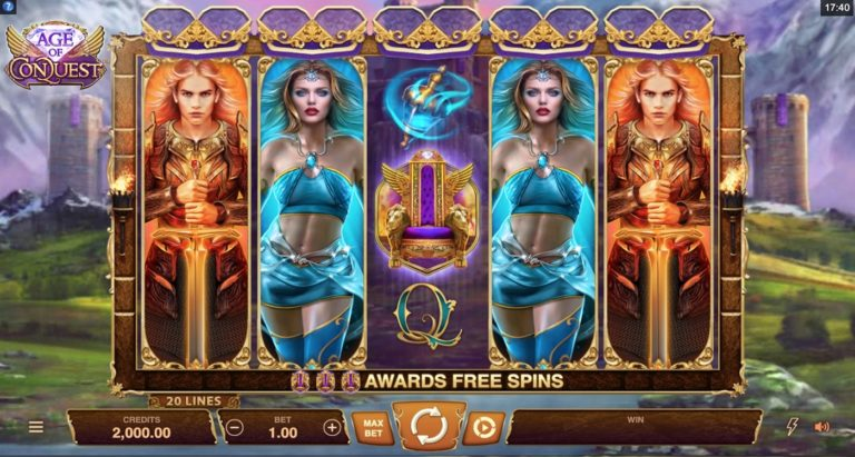 Age of Conquest Slot von Microgaming