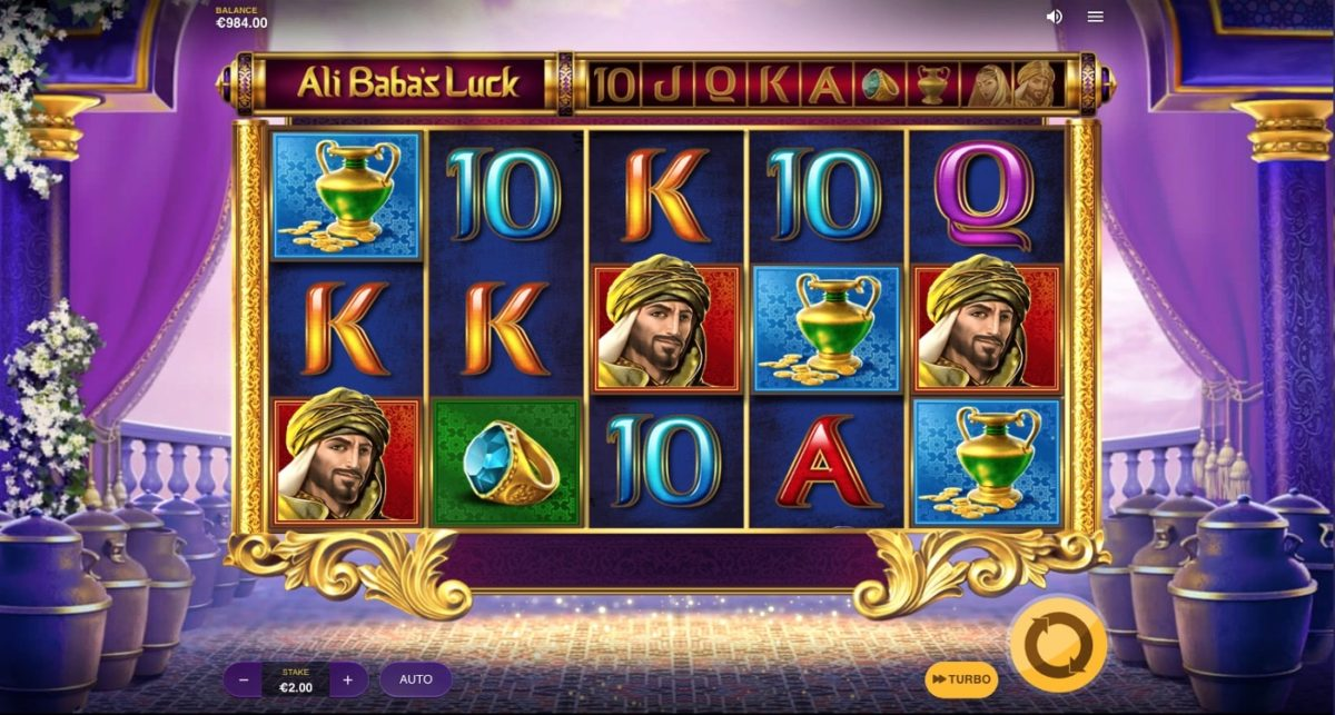 Ali Baba's Luck Slot Red Tiger