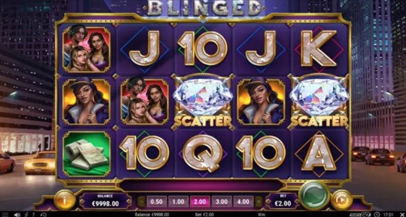 Blinged Slot Play'n Go